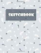 Sponsored Ad - Sketchbook: A Shooting Stars Sketchbook Journal for Girls and Boys: 120 pages, White paper, Gray Cover Sket...