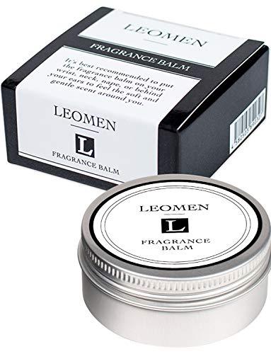LEOMEN 練り香水 フレグランス バーム 40g 4~6カ月分 柑橘系 メンズ シトラスムスク