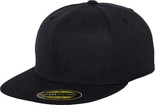 Flexfit Erwachsene Mütze Premium 210 Fitted, blau (dark navy), S/M