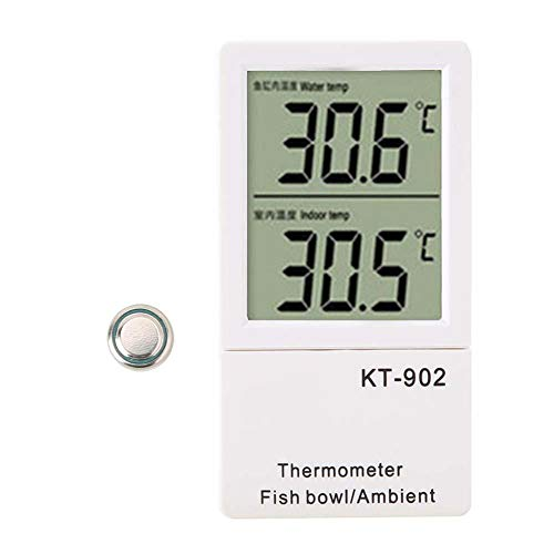 Pssopp Aquarium Thermometer Digitale thermometer LED temperatuur meter intelligente kamerthermometer water thermometer voor aquarium vijver reptiel schildpadden