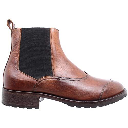Belstaff Herren Stiefeletten Schuhe 77800231 Ladbroke Cognac Leder