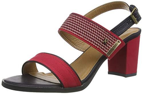 Refresh 69598.0, Zapatos Tira Tobillo Mujer, Rojo