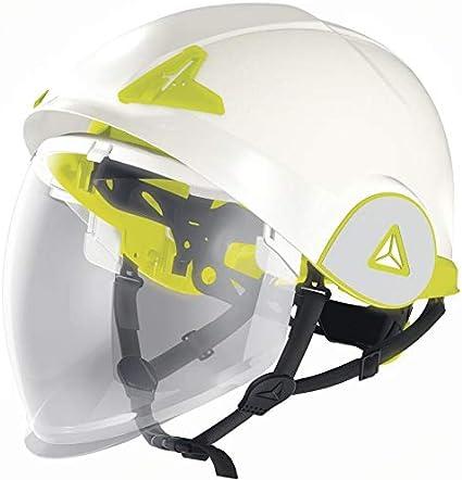 Delta Plus Onyx - Casco de seguridad con visera integral, color azul
