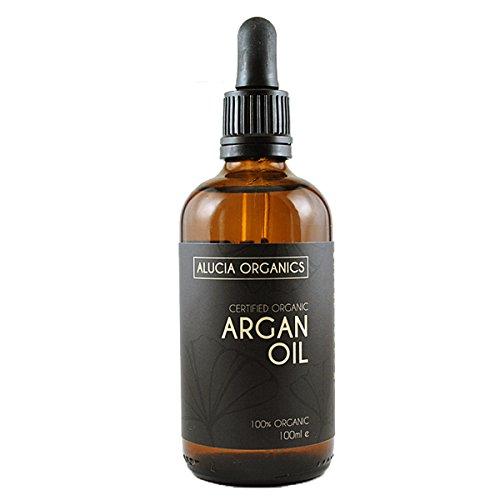 Huile d'argan certifiée bio de Alucia Organics (100ml)