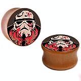 Lifesgood Star Wars Bloody Storm Trooper Ear Plug Ear Gauge (6)