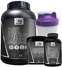 Kit One Whey Protein 900g Baunilha + Creatina 100g + Bcaa 60