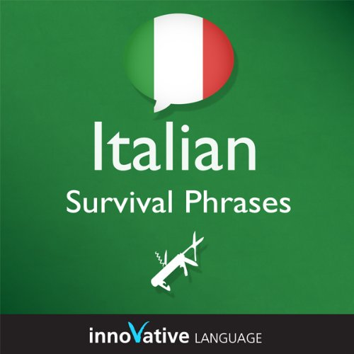 Learn Italian - Survival Phrases Italian, Volume 2: Lessons 31-60 cover art