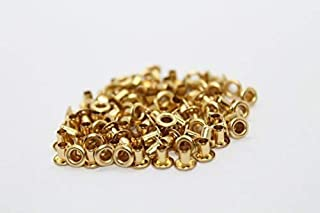 Trimming Shop 100 X 2mm Eyelets For Clothing And Leather Crafts Grommets For Adding Ribbons Lacing And Fabric In Art And Sewing Projects Gold