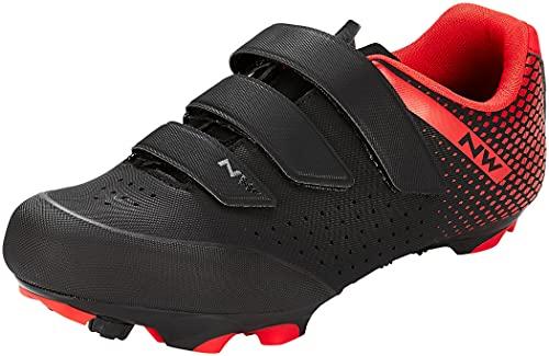 Northwave Origin 2 MTB Fahrrad Schuhe schwarz/rot 2022: Größe: 42
