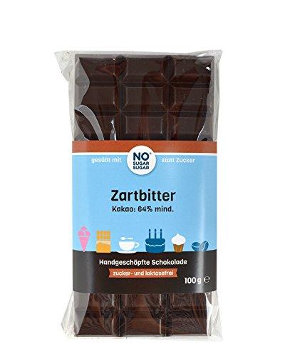 Zartbitterschokolade ohne Zuckerzusatz