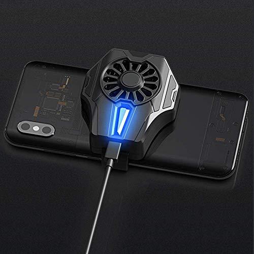 HAOSHUAI Handyheizkörper, Kaltwind-Controller, Gamepad, Lüfter für 67–90 mm Smartphone-Kühler