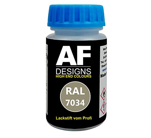 Alex Flittner Designs Lackstift RAL 7034 GELBGRAU matt 50ml schnelltrocknend Acryl