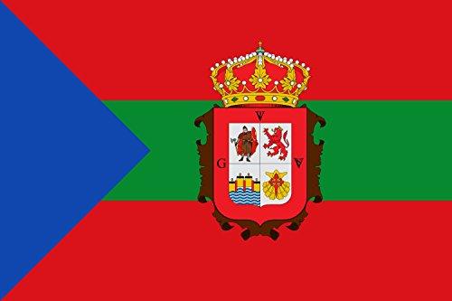 magFlags Bandera Large Tres Franjas horizontales de Igual tamaño | Bandera Paisaje | 1.35m² | 90x150cm