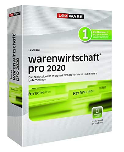 Lexware warenwirtschaft pro 2020|Minibox (Jahreslizenz)|Effizientes Warenwirtschaftssystem für eine organisierte Datenverwaltung für Kleinunternehmer