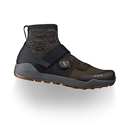 Chaussures Fizik - X2 Terra Clima 37.5 Olive/Caramel