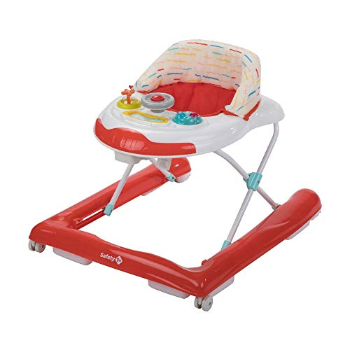 Safety 1st Bolid Girello Bambino Primi passi, Warm Red