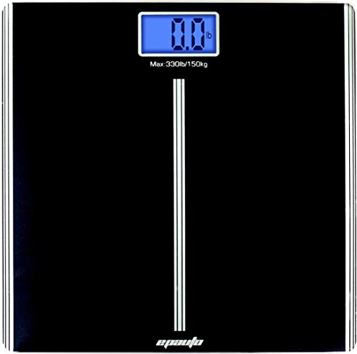 Best Deals! EPAuto Precision Digital Bathroom Body Weight Scale, Black