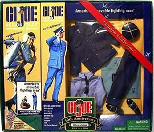 GI Joe 12 40th Anniversary  25 Dress Pilot Figure Set [Toy] by G. I. Joe