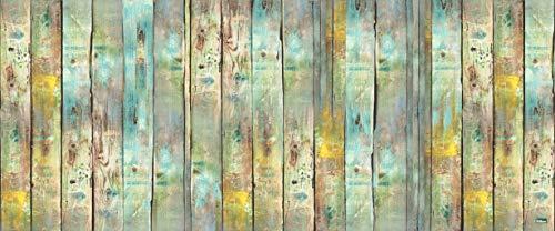 Vilber Gran Chef Wood Alfombra, Vinilo, Multicolor, 50x120x0.2cm