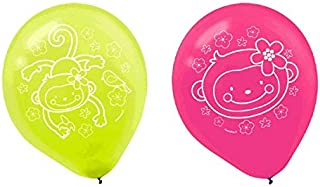 monkey love balloons