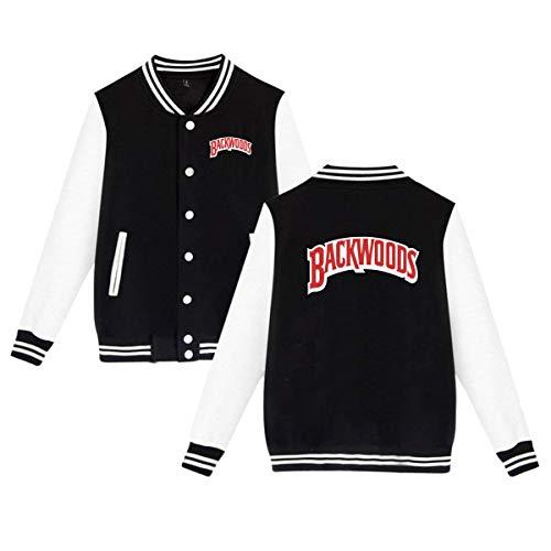 PatriciaMRivas Backwoods Cigars JR Cigar Unisex Mens & Womens Jacket Sweater Sweatshirts Black M