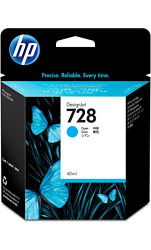 HP 728 40-ml Cyan