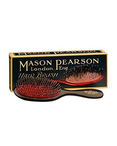 Mason Pearson Sanglier/Nylon Pocket - Black BN4