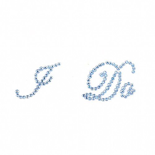 My Little Monster I Do Luz Azul Diamantes de imitación Boda Zapatos...
