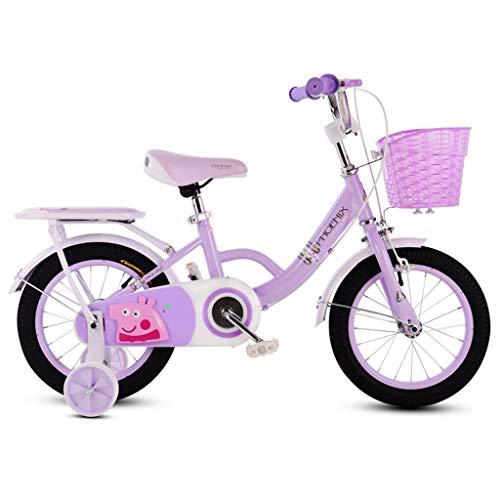 Bicicleta para niños 3-6-7-8 años Bicicleta para niña Niño niña Bicicleta Plegable