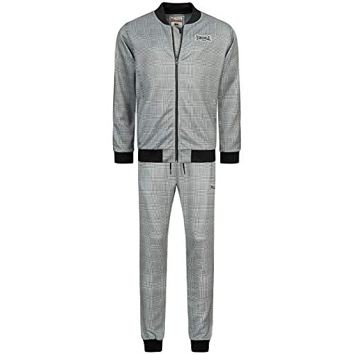 Lonsdale Bilsington The Gentlemen Herren Trainingsanzug (Black/White/Grey, m)