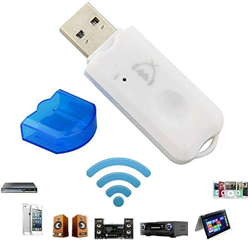 Bluetooth Stereo Adapter Audio Receiver Music Wireless WiFi Dongle Transmitter USB Mp3 Speaker Car FT6