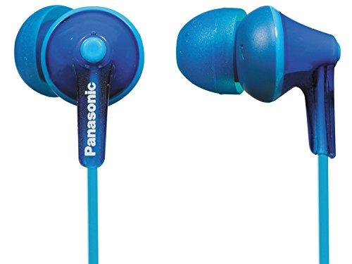 Panasonic RP-HJE125-A ErgoFit in-Ear Earbud Headphones44; Blue