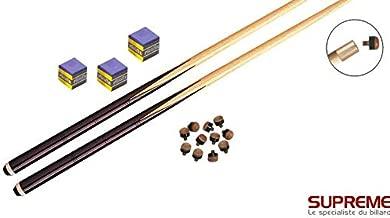 VGEBY1 50 Pcs//Lot Embouts de Queues 13mm Pointes de Queue de Billard Cuir Conseils de Rep/ères avec Bo/îte de Rangement pour Indicateurs de Billard