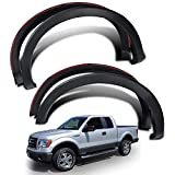 4Pcs Factory Style Pickup Fender Flares Wheel Fender Flare Cover Compatible for Ford F150 2009-2014