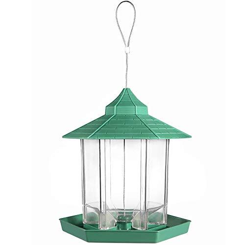 バードフィーダー,小鳥 野鳥 用 給餌器 餌台えさ置き 吊下げ 可愛い 給餌器 餌入れ 鳥 ガーデンオブジェ吊下げ