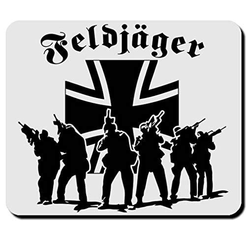 Feldjäger MP Militär Polizei Elite Bundeswehr BW Deutschland - Mauspad #12490