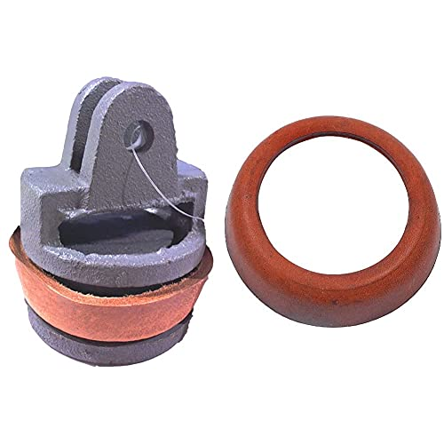 Cornat Kolben für Handpumpe mit Manschette/Garten Bewässerung / PZB12015 & Ledermanschette für Handpumpe/Garten Bewässerung / PZB12020