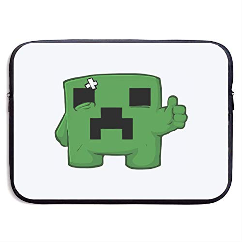 Green Robot Laptop Sleeve- Stylish Cute Notebook Handbag Laptop Sleeve