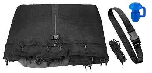 Upper Bounce - Rete di Sicurezza e Protezione di Ricambio per Trampolino Rotondo 2.44 m con Qualsiasi Numero di Poli (Poli Non Inclusi)