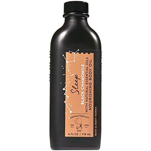 Bath and Body Works Sleep - Black Chamomile Nourishing Body Oil 4 Fluid Ounce