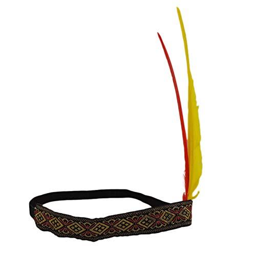 NOVELTY GIANT WWW.NOVELTYGIANT.COM American Indian Feather Headband