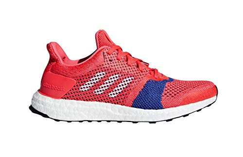 Adidas Performance Boost Ultra Laufschuhe, Grau/Weiß/Purple, 5 M, Rot - rot/weiß/aktiv rosa - Größe: 37 1/3 EU