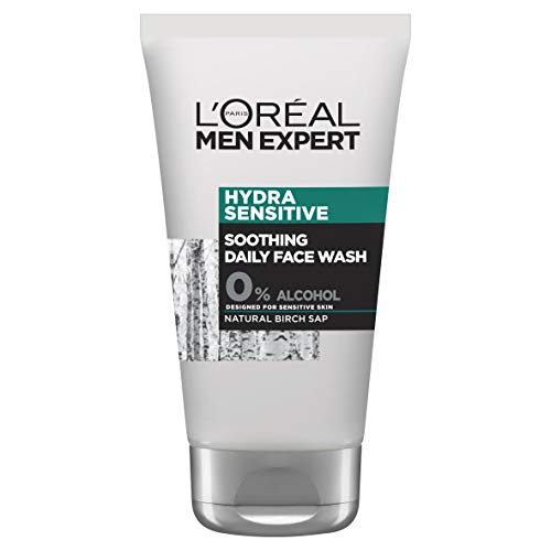 L'Oréal Men Expert Hydra Sensitive Daily Face Wash, 100ml