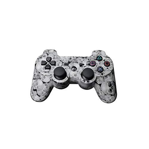 Contrôleur de jeu extra durable |Manette de jeu sans fil Bluetooth de couleur Mutil pour manette Ps3 Pro Manette de jeu Dualshock pour consoles Plastation3-B-