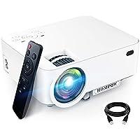 Hompow Full HD 1080p 3600-Lumens Portable Projector