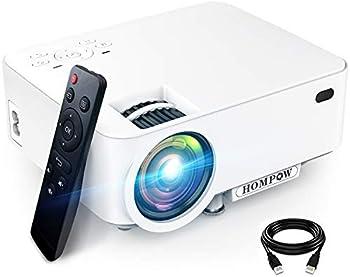 Hompow 3600-Lumens Portable Projector
