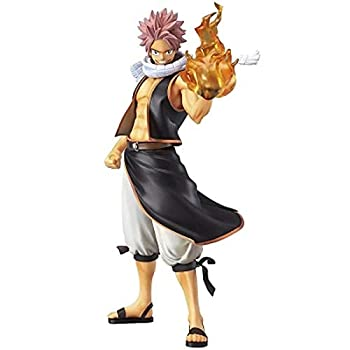 QAL Fairy Tail Anime Figure Natsu Erza Scarlet Model Decoration Figurine Role Toys Statue Collectible Gift for Boyfriend B