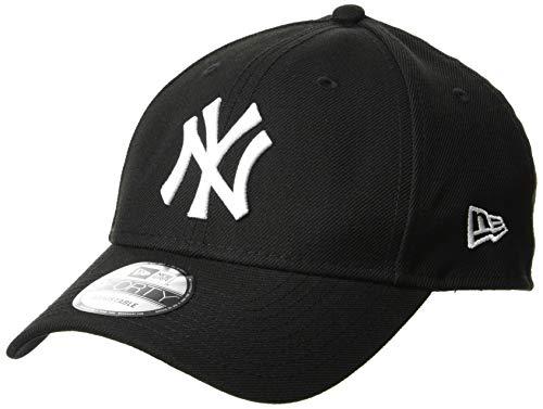 (ニューエラ)NEW ERA 9FORTY ニューヨーク・ヤンキース ブラック × ホワイト キャップ One Size