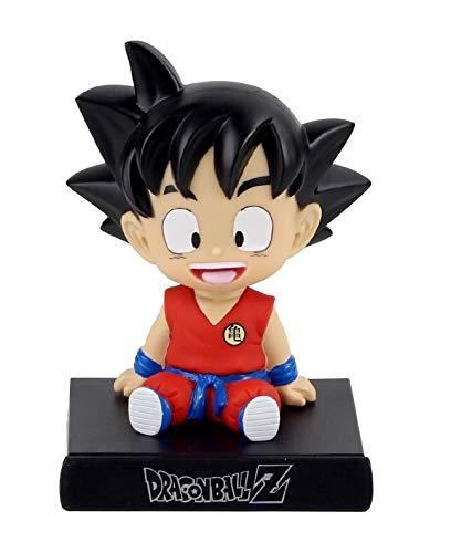 DIANXIA Figura Goku Soporte para movil de 13 cm Dragonball Dragon Ball Goku Pequeño Bola...
