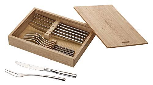 Villeroy & Boch Piemont Steakbesteck Set 12 TLG, 18/10 Edelstahl, 28,5x20x5cm